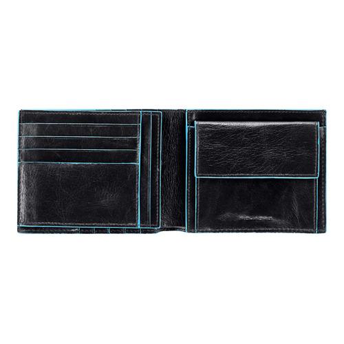 Кошелек мужской Piquadro Blue Square PU1240B2/N черный натур.кожа рюкзаки piquadro ca2943os n