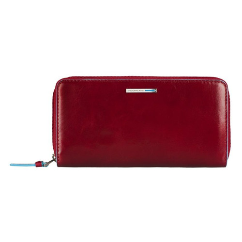 цена Кошелек женский Piquadro Blue Square PD3229B2/R красный натур.кожа онлайн в 2017 году