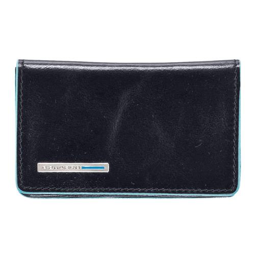 Чехол для визитных карт Piquadro Blue Square PP1263B2/BLU2 синий натур.кожа чехол для кредитных карт piquadro pulse pu1243p15s blu2 синий натур кожа