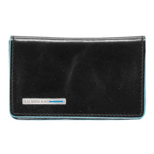 Чехол для визитных карт Piquadro Blue Square PP1263B2/N черный натур.кожа цена 2017