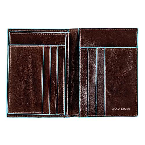 Кошелек мужской Piquadro Blue Square PU1129B2/MO коричневый натур.кожа кошелек мужской тонкий кожа