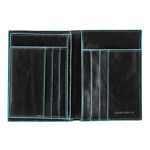 Кошелек мужской Piquadro Blue Square PU1129B2/N черный натур.кожа цена и фото