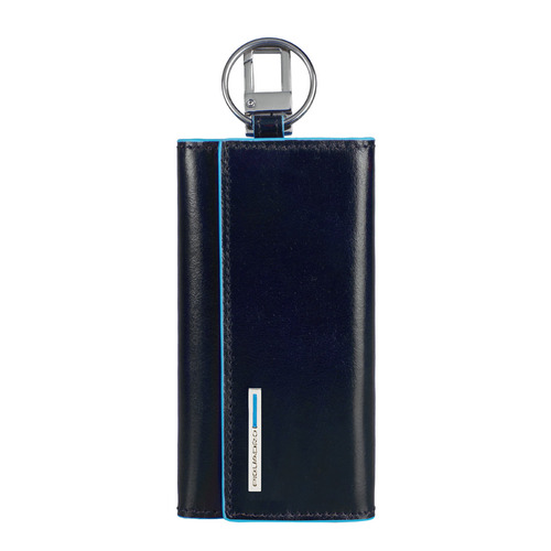 Ключница Piquadro Blue Square PC1397B2/BLU2 синий натур.кожа