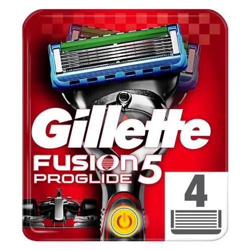 Сменные кассеты для бритья GILLETTE Fusion ProGlide Power, 4шт [81469906] цены онлайн