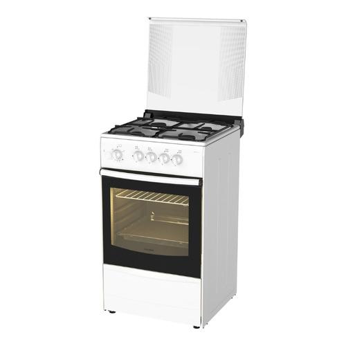 цена на Газовая плита DARINA 1B1 GM 441 018 W, газовая духовка, белый и черный