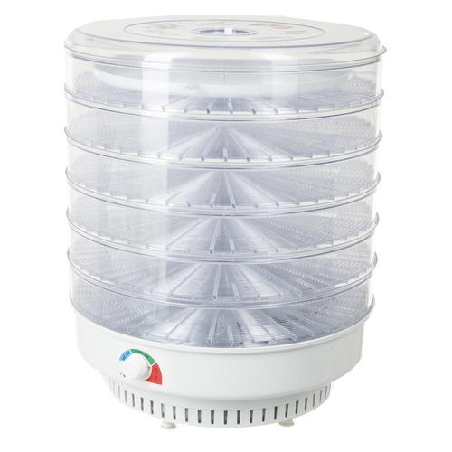 Сушилка для овощей и фруктов СПЕКТР-ПРИБОР Ветерок-2У, прозрачный, 6 поддонов