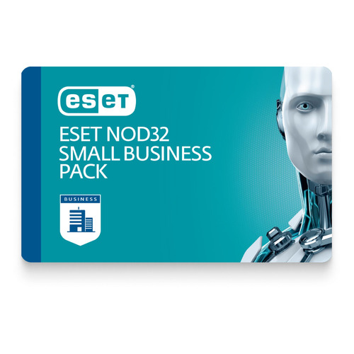 Базовая лицензия (карта) Eset NOD32  Small Business Pack newsale for 5 user 1 год (-SBP-NS