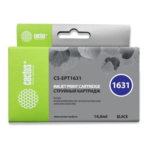 цена Картридж CACTUS CS-EPT1631, черный онлайн в 2017 году