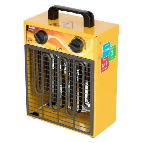 Тепловая пушка электрическая BALLU BHP-ME-3, 3кВт желтый