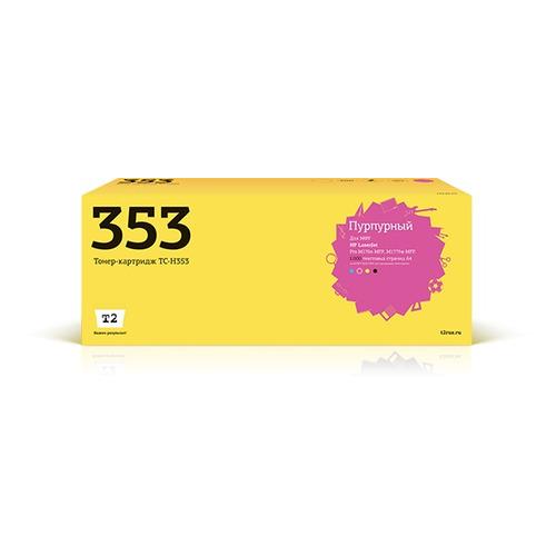 Фото - Картридж T2 TC-H353, CF353A, пурпурный картридж t2 tc hcf403x пурпурный