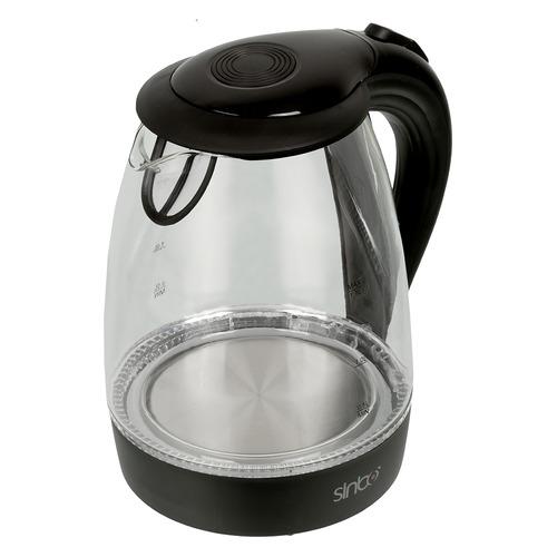 Чайник электрический SINBO SK 7338B, 2200Вт, черный цена и фото