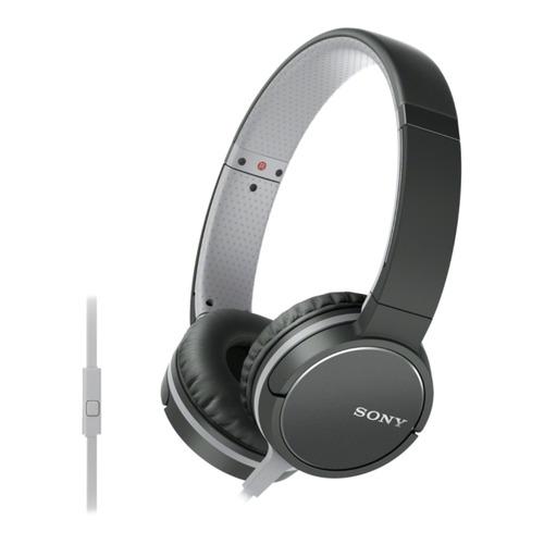 цена на Наушники с микрофоном SONY MDR-ZX660AP, 3.5 мм, накладные, черный [mdrzx660apb.e]