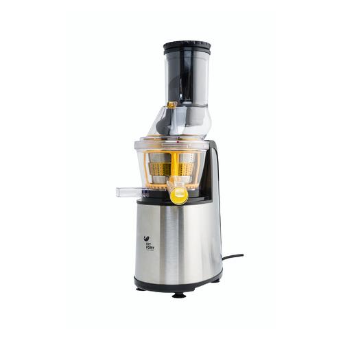 Соковыжималка KITFORT КТ-1102-3, шнековая, серебристый соковыжималка kitfort кт 1102 1 шнековая оранжевый