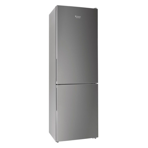 Холодильник HOTPOINT-ARISTON HF 4180 S, двухкамерный, серебристый