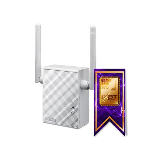 Повторитель беспроводного сигнала ASUS RP-N12, белый