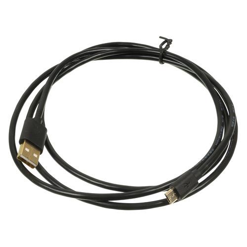 Кабель 2A Square Connector, micro USB B (m), USB A(m), 1.5м, черный shanze samzhe эндрюс кабель для передачи данных 2a быстрый зарядный кабель micro usb кабель поддержка huawei samsung просо oppo meizu vivo черный 3 м mtc 30a