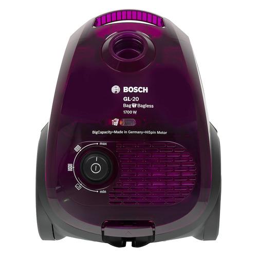 Пылесос BOSCH BGN21700, 1700Вт, фиолетовый недорого