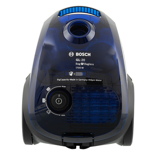 Пылесос BOSCH BGN21702, 1700Вт, синий