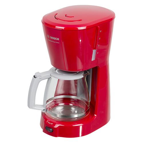 Кофеварка Bosch TKA3A034, капельная, красный