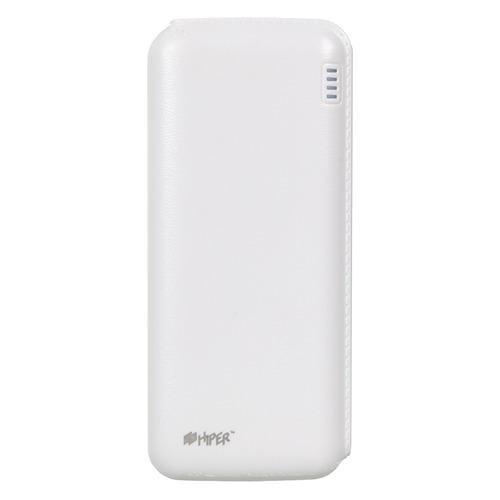 Внешний аккумулятор (Power Bank) HIPER SP12500, 12500мAч, белый [sp12500 white] SP12500 WHITE