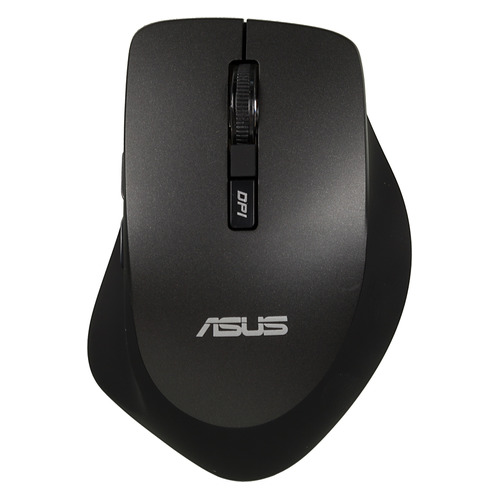 Мышь ASUS WT425, оптическая, беспроводная, USB, черный [90xb0280-bmu000] мышь беспроводная hp 200 silk золотистый чёрный usb 2hu83aa