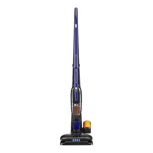 Ручной пылесос (handstick) LG VSF8403SCWB, 90Вт, синий/черный пылесос lg vsf8403scwb