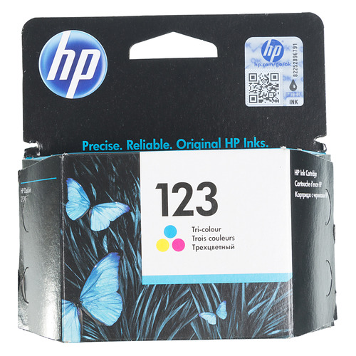 Картридж HP 123, многоцветный [f6v16ae] цена и фото