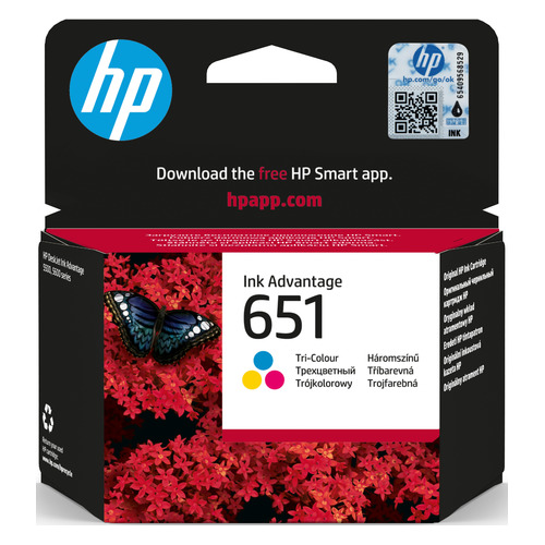 Картридж HP 651 черный [c2p10ae] картридж hp c2p10ae 651 для deskjet ink advantage 5645 5575 чёрный 600 страниц