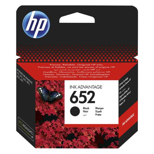 цена на Картридж HP 652, черный [f6v25ae]