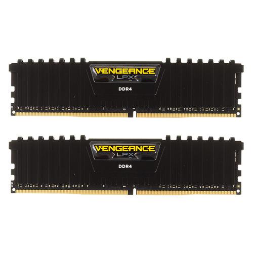 Модуль памяти CORSAIR Vengeance LPX CMK16GX4M2A2400C14 DDR4 - 2x 8ГБ 2400, DIMM, Ret оперативная память corsair vengeance lpx cmk16gx4m2a2400c14 ddr4 2x 8гб 2400 dimm ret