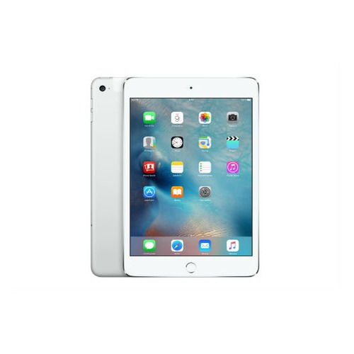 Планшет APPLE iPad mini 4 128Gb Wi-Fi + Cellular MK772RU/A, 2GB, 128GB, 3G, 4G, iOS серебристый