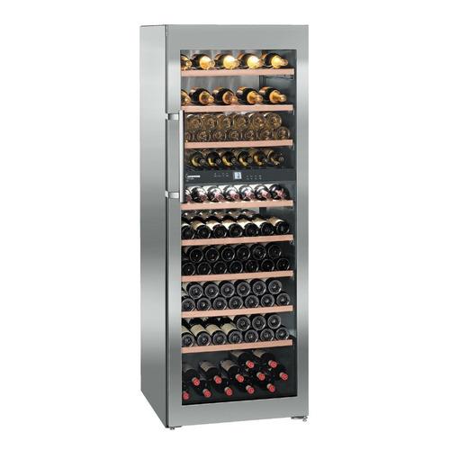 Винный шкаф LIEBHERR WTes 5972, однокамерный, серебристый цена и фото