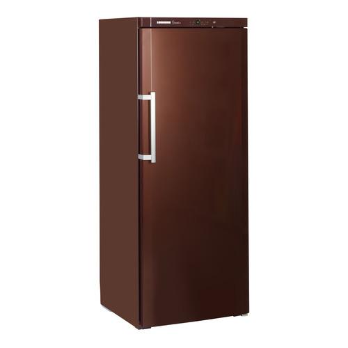 Винный шкаф LIEBHERR WKT 6451, однокамерный, коричневый встраиваемая морозильная камера liebherr uig 1323