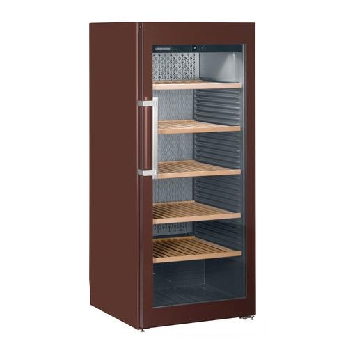 Винный шкаф LIEBHERR WKT 4552, однокамерный, коричневый встраиваемая морозильная камера liebherr uig 1323