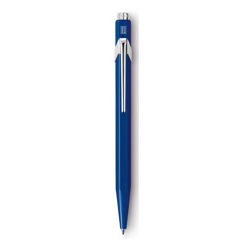 Ручка шариковая Carandache Office CLASSIC (849.150_MTLGB) корпус:Sapphire Blue M синие чернила подар ручка шариковая carandache office infinite 888 090 gb пурпурный m синие чернила подар кор