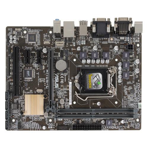 цены Материнская плата ASUS H110M-C, LGA 1151, Intel H110, mATX, Ret
