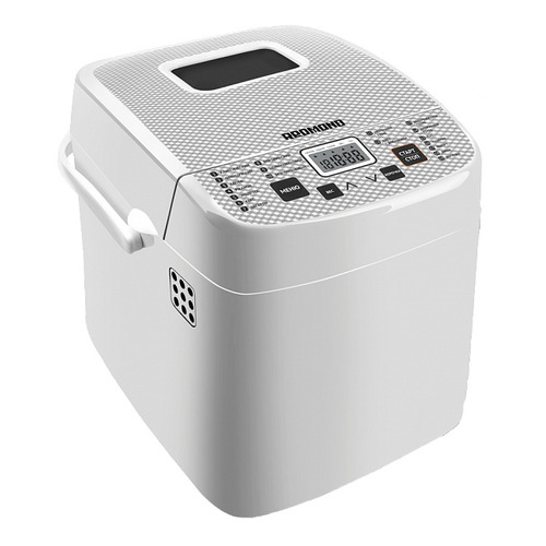 Хлебопечь REDMOND RBM-1908, белый bread maker redmond rbm 1908 free shipping bakery machine full automatic multi function zipper