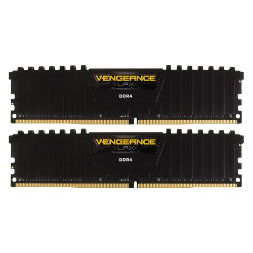 Модуль памяти CORSAIR Vengeance LPX CMK32GX4M2A2400C14 DDR4 - 2x 16Гб 2400, DIMM, Ret цена и фото