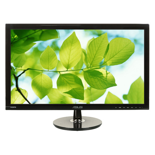 Монитор ASUS VS248HR 24, черный [90lme3001q02231c-] монитор 24 asus vs248hr tn led 1920x1080 1ms vga dvi hdmi