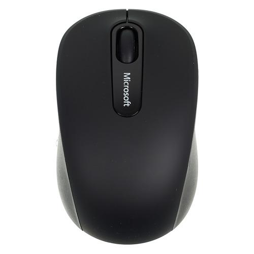 Мышь MICROSOFT Mobile 3600, оптическая, беспроводная, черный [pn7-00004] мышь microsoft bluetooth черный оптическая 1000dpi беспроводная bt 2but