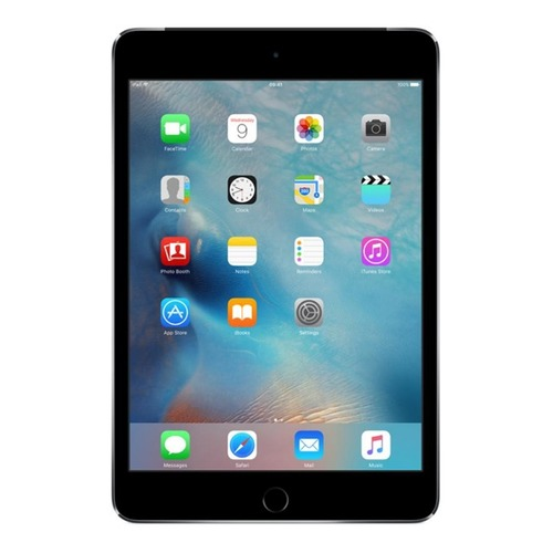 Планшет APPLE iPad mini 4 128Gb Wi-Fi + Cellular MK762RU/A, 2GB, 128GB, 3G, 4G, iOS темно-серый