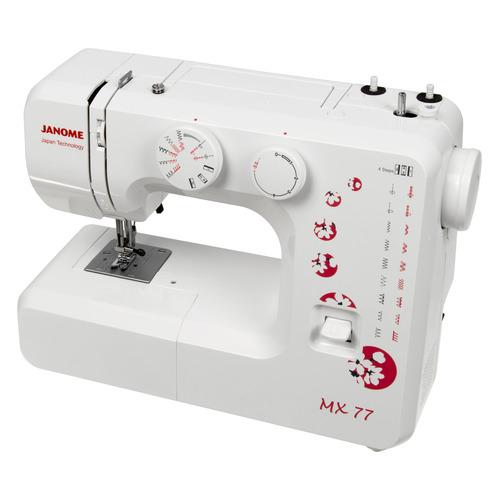 Швейная машина JANOME MX 77 белый janome mx 77 белый