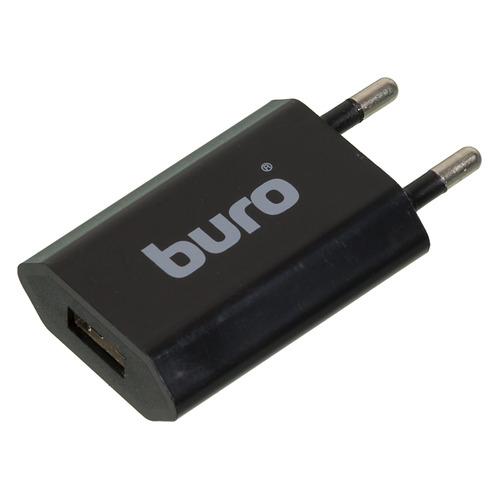 лучшая цена Сетевое зарядное устройство BURO TJ-164b, USB, 1A, черный