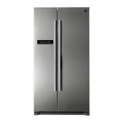 Холодильник DAEWOO FRN-X22B5CSI, двухкамерный, серебристый цены