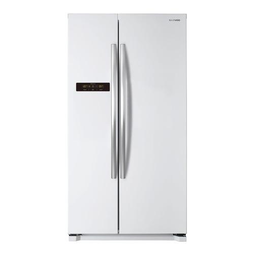 лучшая цена Холодильник DAEWOO FRN-X22B5CW, двухкамерный, белый