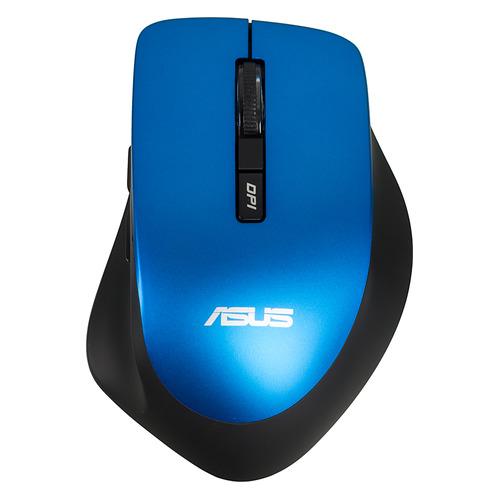 Мышь ASUS WT425 оптическая беспроводная USB, синий [90xb0280-bmu040]  - купить со скидкой