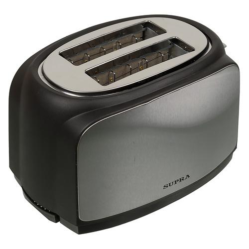 Тостер SUPRA TTS-217, черный/серебристый [6986] цена