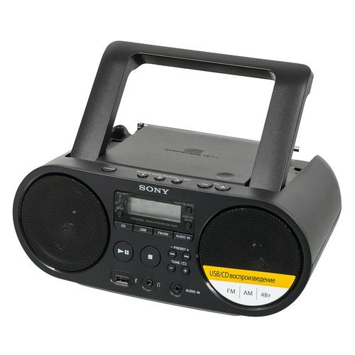 Аудиомагнитола SONY ZS-PS50, черный цена 2017