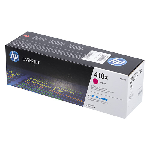 Картридж HP 410X, пурпурный [cf413x] картридж hp cf413x для hp lj pro m452 m477 пурпурный