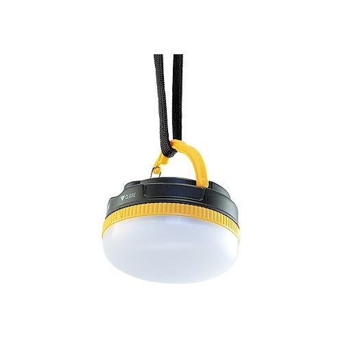 Походный (кемпинговый) фонарь ЯРКИЙ ЛУЧ CL-120, черный / желтый [4606400616092]